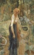 Стоящая женщина - Магритт, Рене
