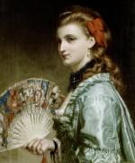 Портрет дамы с веером из слоновой кости - Дикси, Фрэнк
