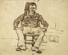 Сидящий зуав (Seated Zouave), 1888 02 - Гог, Винсент ван