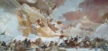 Аполлон и континенты, деталь - Африка - Тьеполо, Джованни Баттиста