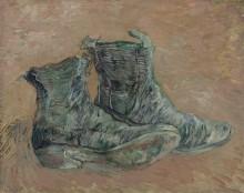 Ботинки (Shoes), 1887 - Гог, Винсент ван