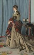 Портрет госпожи Гудиберт, 1868 - Моне, Клод