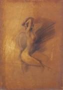 Сидящая голая - Больдини, Джованни