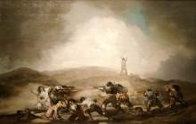 Сцена Пиренейской войны - Гойя, Франсиско Хосе де