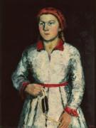 Портрет дочери художника - Малевич, Казимир