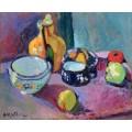 Посуда и фрукты - Матисс, Анри