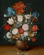 Букет цветов в вазе - Брейгель, Ян (младший)