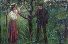 Адам и Ева - Мунк, Эдвард