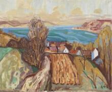 Пейзаж на Боденском озере - Дикс, Отто