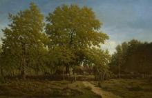 Пейзаж с фермой - Руссо, Теодор