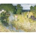 Сенокос (Hay Mowing) - Монтезин, Пьер Эжен