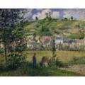 Пейзаж в Чапонволе, 1880 - Писсарро, Камиль