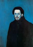 Автопортрет, 1902 - Пикассо, Пабло