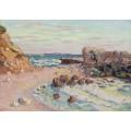 Скалы в Сен-Пале, 1900 - Гийомен, Арманд