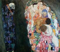 Жизнь и смерть - Климт, Густав