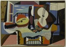 Мандолина и гитара - Пикассо, Пабло