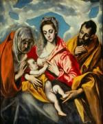 Святое Семейство - Греко, Эль