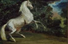 Гарцующий конь - Жерико, Теодор Жан Луи Андре