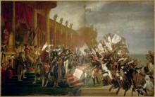 Клятва императору Наполеону после распределения орлов - Давид, Жак-Луи