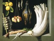Натюрморт, 1602 - Санчес, Хуан