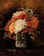 Ваза с гвоздиками (Vase with Carnations), 1886 - Гог, Винсент ван