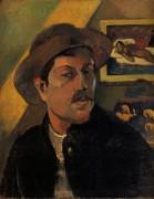 Автопортрет, 1893 - Гоген, Поль