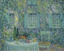 Стол.Солнца на листьях, Герберой, 1917 - Сиданэ, Анри Эжен Огюстен Ле
