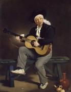Испанский гитарист - Мане, Эдуард