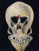 Балерина в черепе - Дали, Сальвадор