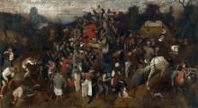 Раздача вина в день святого Мартина - Брейгель, Питер (Старший)
