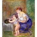 Мать и ребенок - Ренуар, Пьер Огюст