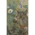 Кошка с добытой птичкой - Лильефорс, Бруно