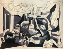 Склеп, братская могила, 1945 - Пикассо, Пабло