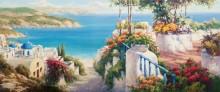 Средиземноморский пейзаж. Санторини - Янев, Янко (20 век)