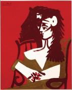 Женщина со скрещенными руками - Пикассо, Пабло