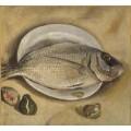 Натюрморт с рыбой - Дали, Сальвадор