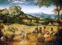 Сенокос - июль - Брейгель, Питер (Старший)