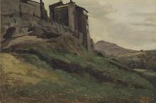 Замок на вершине горы - Коро, Жан-Батист Камиль