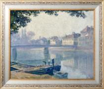 Берега Марны, 1907 - Лебаск, Анри