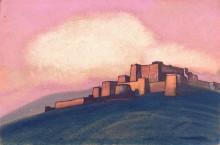Тибетская крепость - Рерих, Николай Константинович