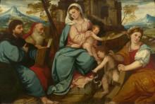 Мадонна с младенцем и святыми -  Питати, Бонифацио ди