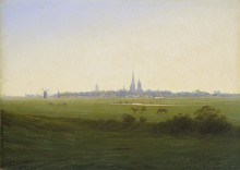 Луга в районе Грайфсвальда, 1820- 1822 - Фридрих, Каспар Давид