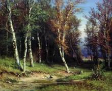 Лес перед грозой, 1872 - Шишкин, Иван Иванович
