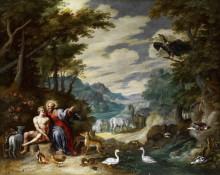 Сотворение Адама - Брейгель, Ян (младший)