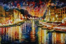 Большой канал, Венеция - Афремов, Леонид (20 век)
