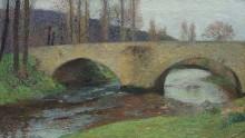Мост в Лабастид-дю-Вер - Мартен, Анри Жан Гийом