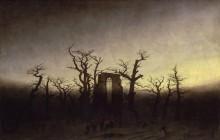 Аббатство среди дубовых деревьев - Фридрих, Каспар Давид