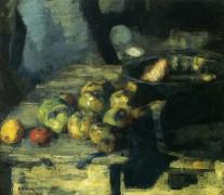 Яблоки , 1880 - Энсор, Джеймс