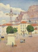 Ле-Пюи, площадь под солнцем,1889-90 - Дюбуа-Пилле,  Альберт