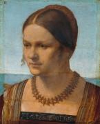 Портрет венецианки - Дюрер, Альбрехт